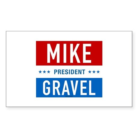 Classic Gravel Rectangle Sticker