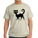 Cat With Green Eyes Light T-Shirt
