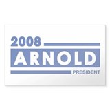 ARNOLD 2008 Rectangle Decal