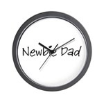 Newbie Dad Wall Clock