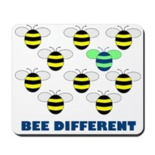 BEE DIFFERENT Mousepad