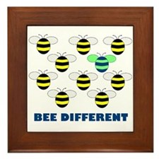 BEE DIFFERENT Framed Tile