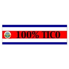 costarica Bumper Bumper Sticker