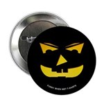Maniacal Carved Pumpkin Button