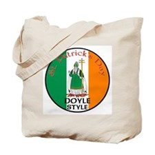 Doyle, St. Patrick's Day Tote Bag