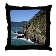 Vernazza, Cinque Terre Throw Pillow