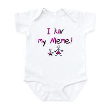 Meme Infant Bodysuit