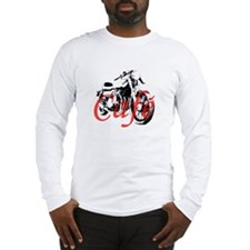 Cafe Racer Kawasaki Long Sleeve T-Shirt