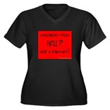 Neighbors from Hell? : Women's Plus Size V-Neck Da