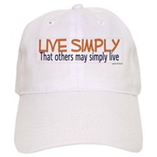 Live Simply -- That others ma Baseball Cap