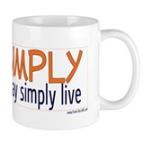 Live Simply -- That others ma Small Mug