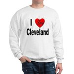 I Love Cleveland (Front) Sweatshirt