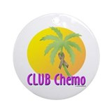 Club Chemo-Colon Ornament (Round)