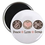 Peace Love Scrapbook 2.25