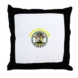 San Ignacio, Belize Throw Pillow