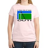 """It was out!"" T-Shirt"