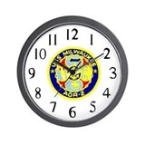 USS Milwaukee (AOR 2) Wall Clock
