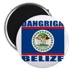 "Dangriga, Belize 2.25"" Magnet (100 pack)"