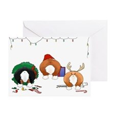 Welsh Corgi Christmas Cards (Pk of 20)