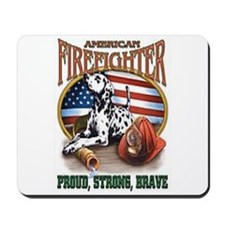 American Firefighter Mousepad