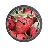 """Summer Berry"" Wall Clock"