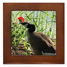 """""""Sunlite Goose"""" Framed Tile"""