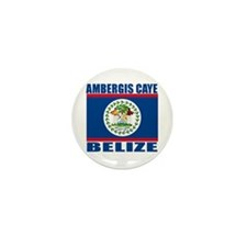 Ambergis Caye, Belize Mini Button (10 pack)