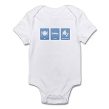 Eat, Sleep, Wakeboard Infant Bodysuit
