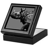 Black Rhino Keepsake Box