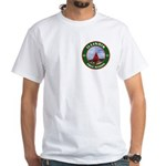 Illinois Free Mason White T-Shirt