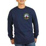 Illinois Free Mason Long Sleeve Dark T-Shirt