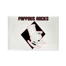 Pappous Rocks Rectangle Magnet (10 pack)