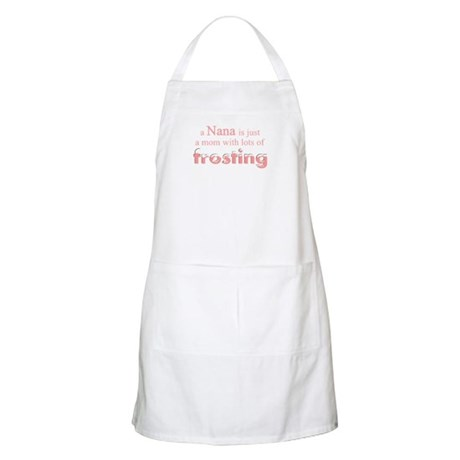 nana mom frosting BBQ Apron