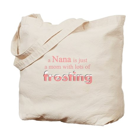 nana mom frosting Tote Bag