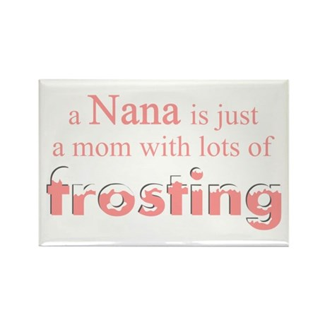nana mom frosting Rectangle Magnet
