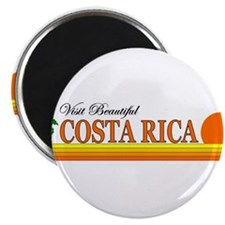 "Visit Beautiful Costa Rica 2.25"" Magnet (10 pack)"