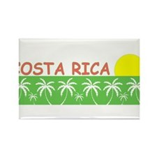 Costa Rica Rectangle Magnet