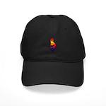 Kokopelli Snowboarder Black Cap