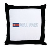 Mal Pais, Costa RIca Throw Pillow