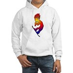 Kokopelli Snowboarder Hooded Sweatshirt