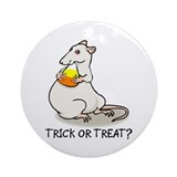 Halloween Rat Ornament (Round)