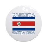 Cahuita, Costa Rica Ornament (Round)