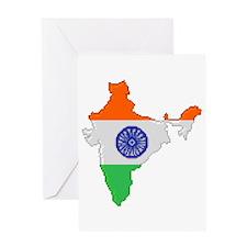 """Pixel India"" Greeting Card"