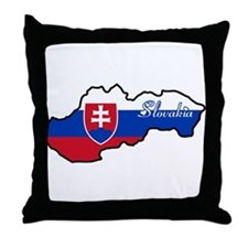 Cool Slovakia Throw Pillow