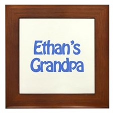 Ethan's Grandpa Framed Tile