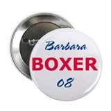 Barbara Boxer Button 1, 10 pack