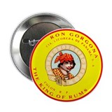 "Ron Gorgona Rum 2.25"" Button (100 pack)"
