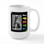 Dalmation tada! Large Mug