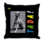 Dalmation tada! Throw Pillow