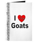 I Love Goats for Goat Lovers Journal